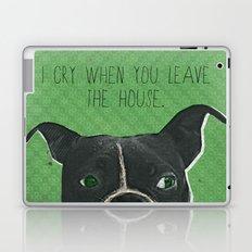 Boston Terrier Print Laptop & iPad Skin