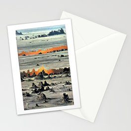 Fire Between the Cracks Stationery Cards