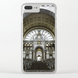Antwerp Central Clear iPhone Case
