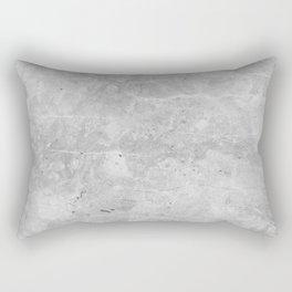 Gray Concrete Rectangular Pillow