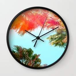 California Summer Wall Clock