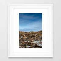 dune Framed Art Prints featuring Dune by danpaola