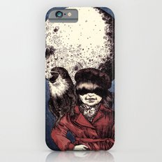Posing on the moon iPhone 6s Slim Case