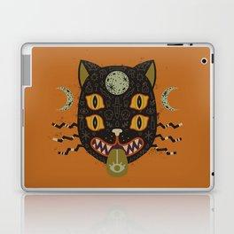 Spooky Cat Laptop & iPad Skin