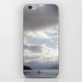 Early Morning Paddler on Vancouver Island iPhone Skin