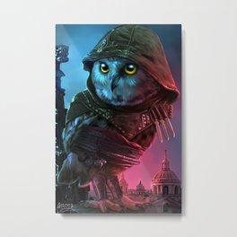 owl's creed Metal Print