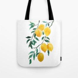 yellow lemon 2018 Tote Bag