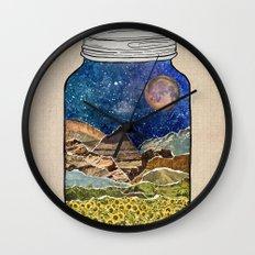 Star Jar Wall Clock