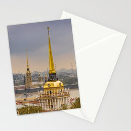 Saint Petersburg Admiralty Stationery Cards
