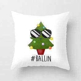 #Ballin Throw Pillow