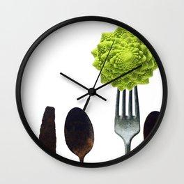 Eat Healthy Wall Clock