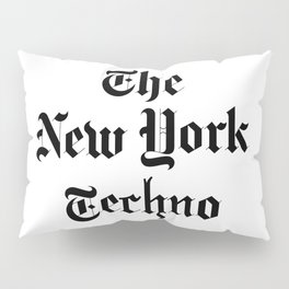 The New York Techno Pillow Sham