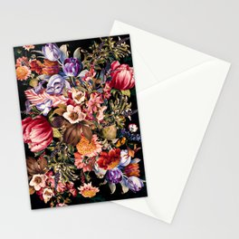 Midnight Garden VII Stationery Cards
