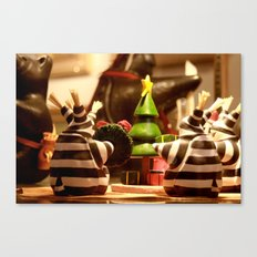 Tis The Season Gathering | Christmas Toy Canvas Print