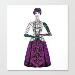 Portrait of a lady: Berenice Canvas Print
