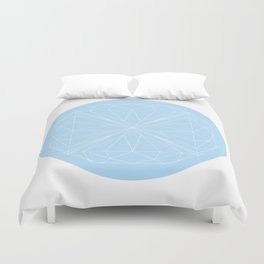 Diamonds are a girl's best friend Duvet Cover