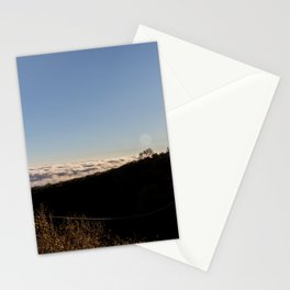 Cloudy landscape Stationery Cards
