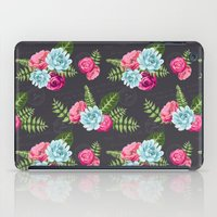 flower pattern iPad Cases featuring Flower Pattern by eARTh