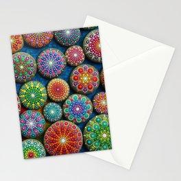 Mandala Stone Love Heart Stationery Cards