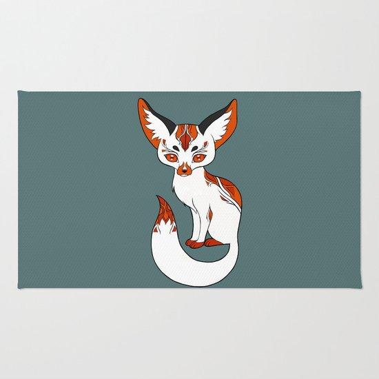 Mysterious Fox Rug