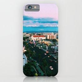 Las Vegas Photograph Filter Vintage Cool Colors  iPhone Case