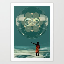 Now Infinite Art Print
