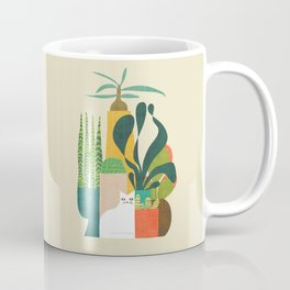 Still life with cat Coffee Mug