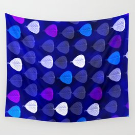 Colorful Leaves Wall Tapestry