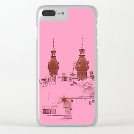 University of Tampa -- Pink Clear iPhone Case