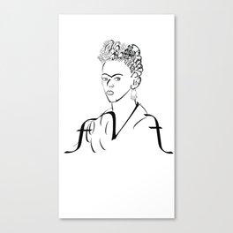 fk Canvas Print