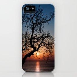 Sorrento Evening Sunset iPhone Case