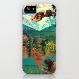 'Amour Fou. She wanted love, love, crazy love' iPhone Case