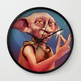 Dobby the House Elf by Big Foot Studios Wall Clock