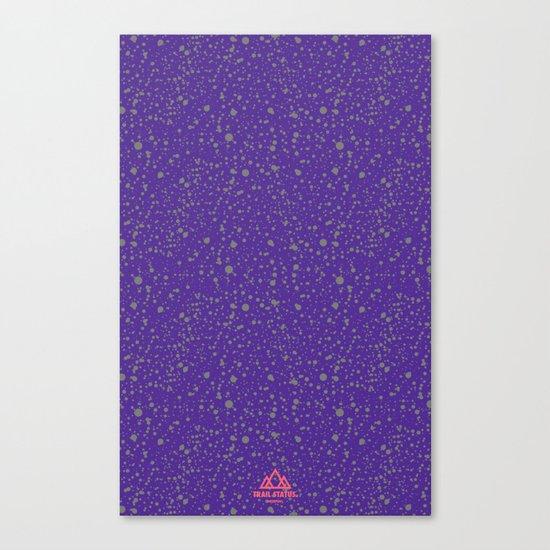 Trail Status / Mountain Purple Canvas Print