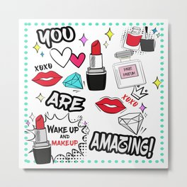 You are amazing! Metal Print