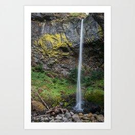 Elowah Falls, Oregon Art Print