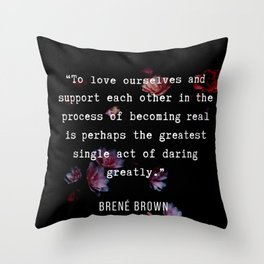 21  | Brene  Brown Quotes  | 190717 | Throw Pillow