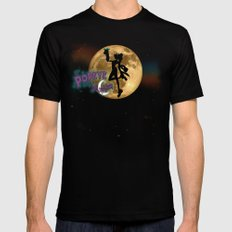 POPEYE THE SAILOR MOON - 001 Black 2X-LARGE Mens Fitted Tee