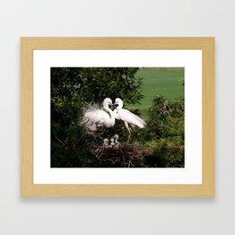 The Couple Framed Art Print