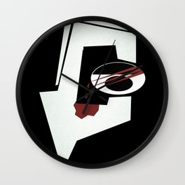Debaser Wall Clock