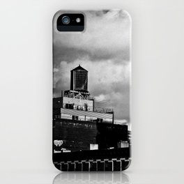 NYC Skyline 2012 (film grain) iPhone Case