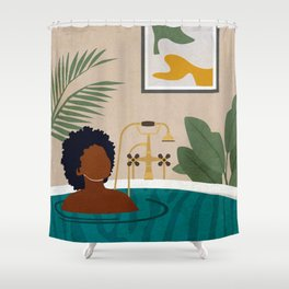 Stay Home No. 2 Shower Curtain