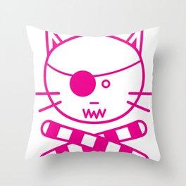 Tuna Ramekins Throw Pillow