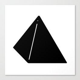 Shapes Pyramid Canvas Print