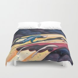 Gravity's Union Duvet Cover