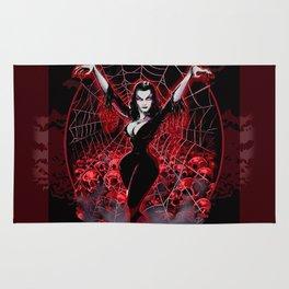 Web of Vampira Rug