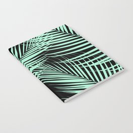 Palm Leaves - Mint Cali Vibes #1 #tropical #decor #art #society6 Notebook