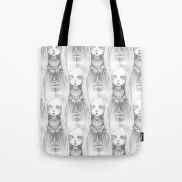 The little ghost girl Tote Bag