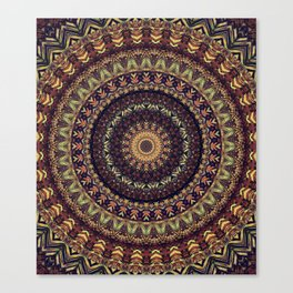 Mandala 252 Canvas Print