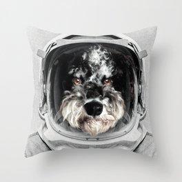 Buster Astro Dog Throw Pillow